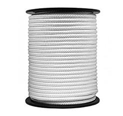 Polyamide braided ropes
