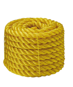Multifilament twisted ropes