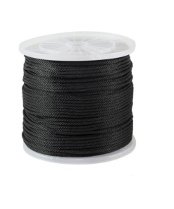 Polyester braided ropes
